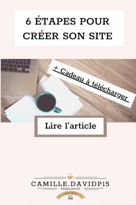 Étapes de création d'un site WordPress