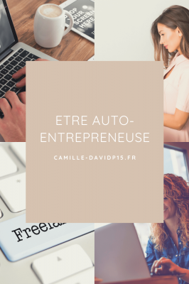 Etre auto-entrepreneuse...